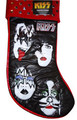 KISS Dynasty Faces Red Cuff Stocking