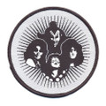 KISS Hotter Than Hell Circle Patch