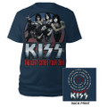 KISS 2011 Lost Cities Tshirt