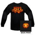 KISS Halloween Pumpkin Longsleeve Shirt