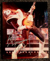 Ace Frehley Signed KISS Lean Back with Guitar Photo