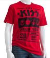 KISS Red Anaheim 1976 Tshirt
