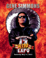 Gene Simmons Kickoff Event Fire 8x10 Photo