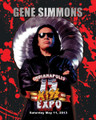 Gene Simmons Kickoff Event Blood 8x10 Photo