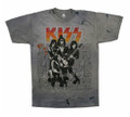 ROCK AND ROLL ALL NITE KISS TIE-DYE T-SHIRT