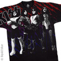 KISS Heavens On Fire Large Print Tshirt