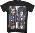 KISS Flag Faces Tshirt