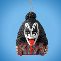 Gene Simmons Demon Logo Resin Christmas Ornament