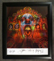Hand Signed Full Motion Psycho Circus Framed Lithograph