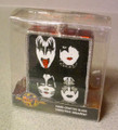 KISS Glass Poster Ornament