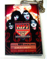 2003 KISS Army Access Ticket Club Gold Corps Laminate Pass