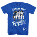 KISS Kansas City Royals Dressed To Kill Tshirt