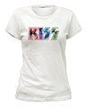Kawaii Womens KISS Logo TShirt