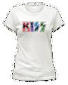 Kawaii Womens KISS Logo TShirt