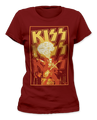KISS Demon Fire Womens TShirt