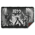 Black and White Stage Shot Sublimation Woven Throw