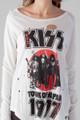 Trunk KISS Japan Tour Longsleeve White Tee