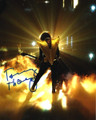 Tommy Thayer Signed Golden Glow Photo #5