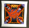 Sonic Boom Cover Print Water Color Textured Paper Signed by Artist