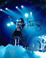 Tommy Thayer Signed Blue Spotlight Photo #8