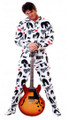 KISS Footed Starchild Adult Pajamas