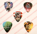 KISS 2013 Denmark Commemorative Pick Set