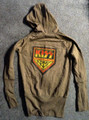 KISS Army Green Juniors Zipper Hoodie