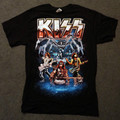 KISS Spider with Band Tour Tshirt