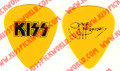 Gene Simmons Yellow Promo Guitar Pick