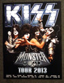 Monster Tour 2013 Europe Poster