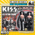 KISS Limited Edition 8 Inch Figure Two-Packs: The Demon & The Starchild Love Gun Edition