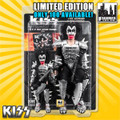 "KISS Limited Edition 8 & 12 Inch Figure Two-Packs: The Demon ""Monster"" Bloody Edition With Bass Guitars"
