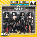 KISS Limited Edition 8 Inch Figure Four-Packs: 1974 Debut Album Edition