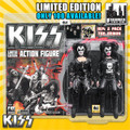 KISS Limited Edition 8 Inch Figure Two-Packs: The Demon 1974 Debut Album Edition