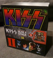KISS Alive II Stage 1:20 Scale Action Figures Deluxe Box Set #1 Convention Exclusive