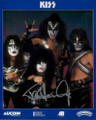 Paul Stanley Signed Band Promo Photo Closeup
