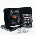 KISS Dynasty Logo Double Deck Playing Cards w/Dice Set