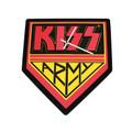 KISS Army Logo Foam Clock