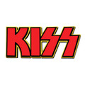 KISS Logo Foam Sticker Red