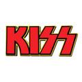 KISS Logo Foam Sticker Red