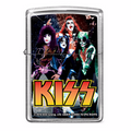 2016 KISS Group Glitter Zippo Lighter