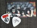 KISS 40 Years Icon Guitar Pick Gene Simmons