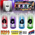 KISS Blinking Plastic Mini Glasses Set of 4 - Convention Exclusive