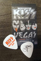 KISS Rocks Las Vegas Common Gene Simmons Guitar Pick