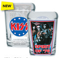 KISS Spirit Of '76 Full Color Square Shotglass
