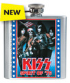 KISS Spirit of 76 Stainless  Flask