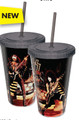 KISS Live Cup with Straw