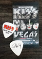 KISS Rocks Las Vegas Flames Guitar Pick Paul Stanley Guitar Pick