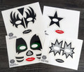 Set of Tattoo Masks 2016 Official Japan KISS Expo