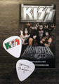 KISS Mexico Hell and Heaven Metal Fest 2014 Tommy Thayer Guitar Pick